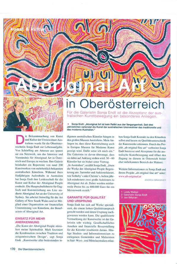 You are browsing images from the article: Medien berichten über neue Galerie ab original fine art